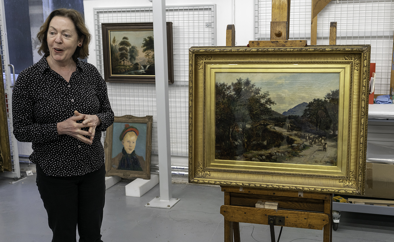 Susan Kerecher Curator at the McManus tells us about 'The Old Bridge, Glenorchy'